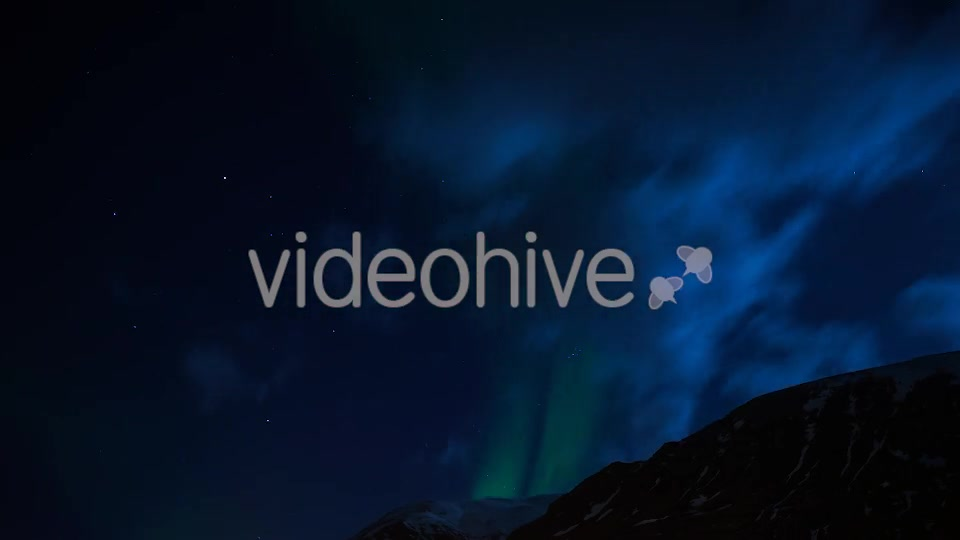 Northern Polar Lights in Iceland (Full HD)  - Download Videohive 10594625