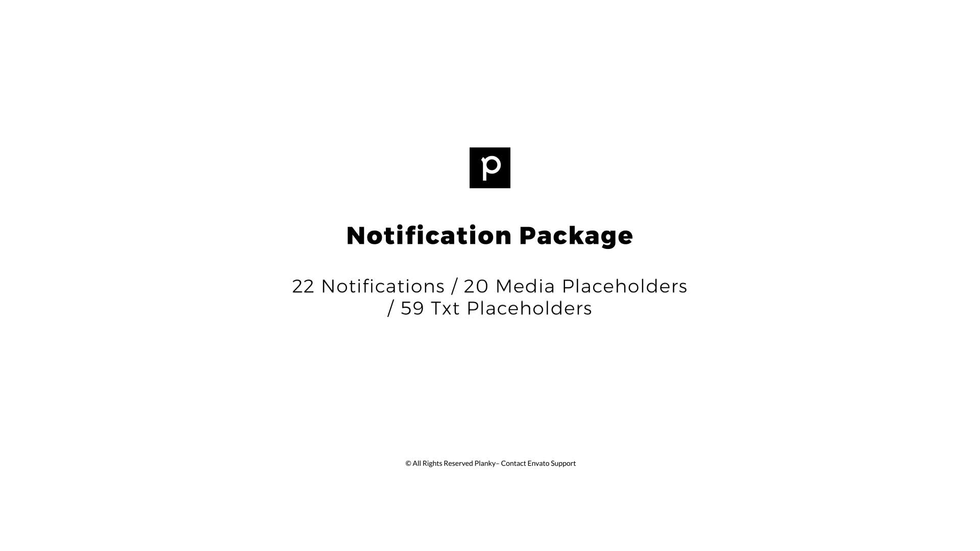 Notification Package - Download Videohive 21634708