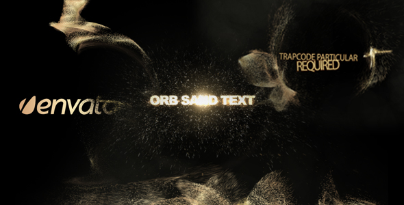 Orb sand intro 3 in 1 - Download Videohive 223234