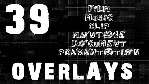 Overlays Big Pack 39 Overlays - Download Videohive 19634512