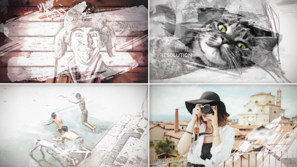 Painted Slideshow - Download Videohive 13837589