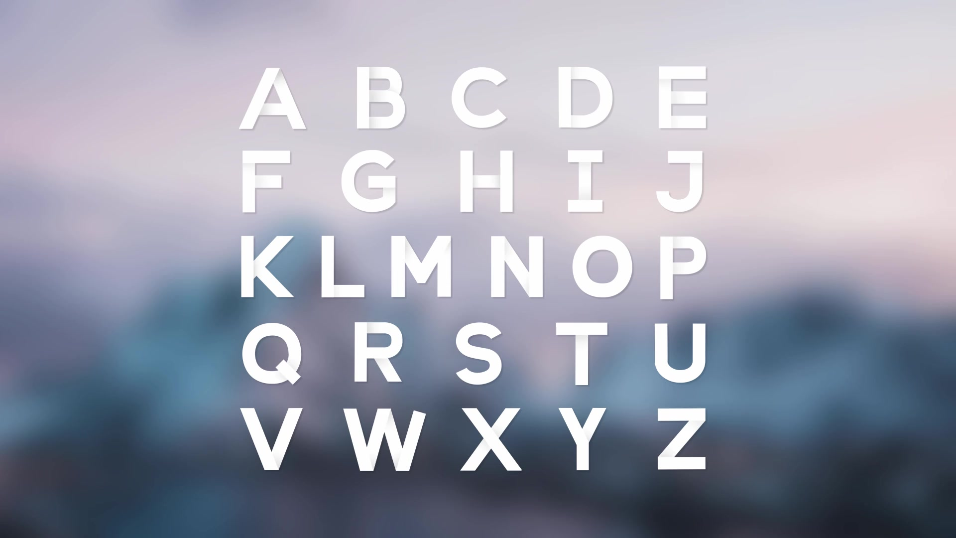 Paper Grotesque Shady Animated Typeface - Download Videohive 16453672
