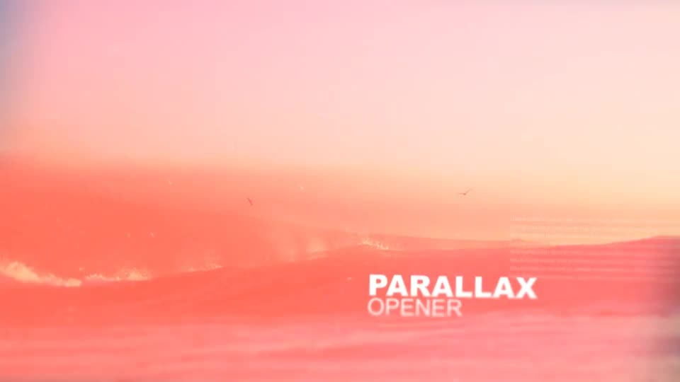 Parallax Opener - Download Videohive 16701534