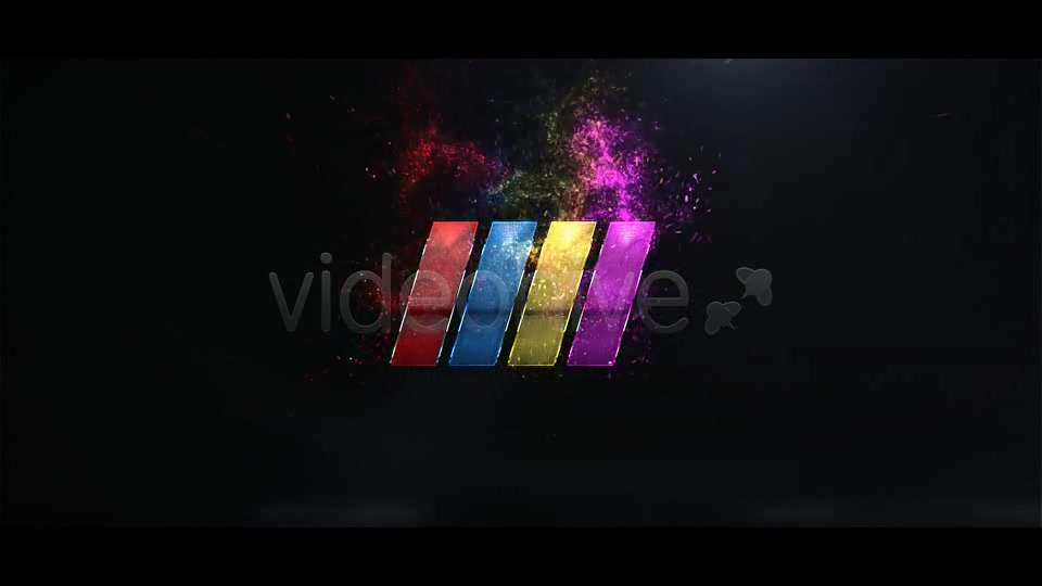 Particle Burst Logo Reveal - Download Videohive 1523651