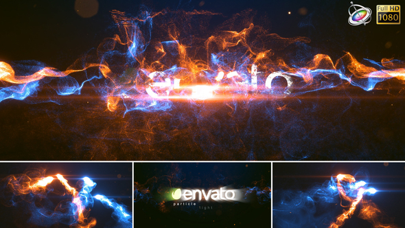 Particle Light – Apple Motion - Download Videohive 23179982