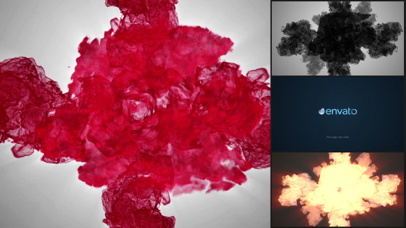 Particle Smoke Glitch Logo Reveal - Download Videohive 8206378