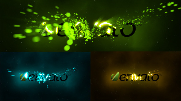Particle Storm Logo Reveal - Download Videohive 5523384