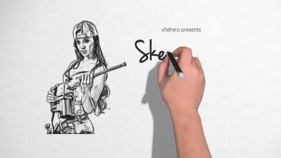 Pencil sketch art download videohive 17913816