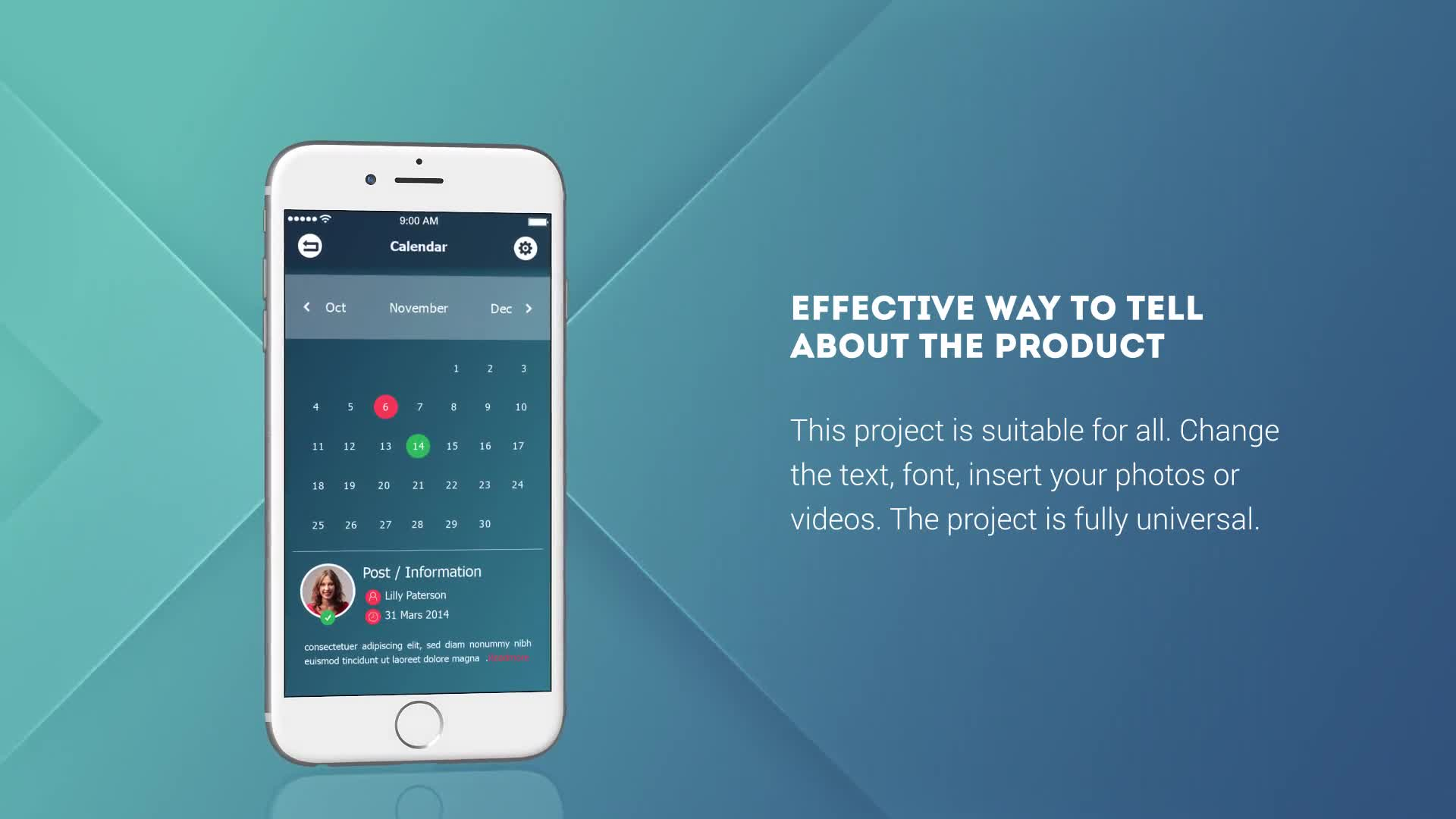 Phone 6 App Presentation - Download Videohive 15320992