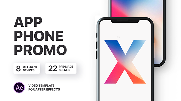 Phone X App Presentation - Download Videohive 20770512