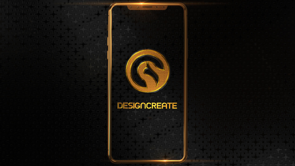 Phone X Gold Logo - Download Videohive 20983667