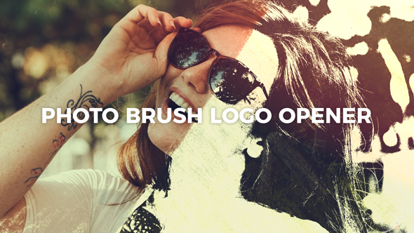 Photo Brush Logo Opener - Download Videohive 21448702
