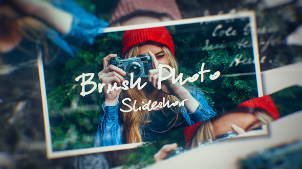Photo Brush Slideshow - Download Videohive 20373472