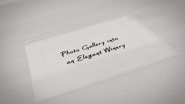 Photo Gallery In An Elegant Winery - Download Videohive 5644983