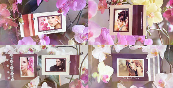 Photo Gallery in Flowers - Download Videohive 15146384