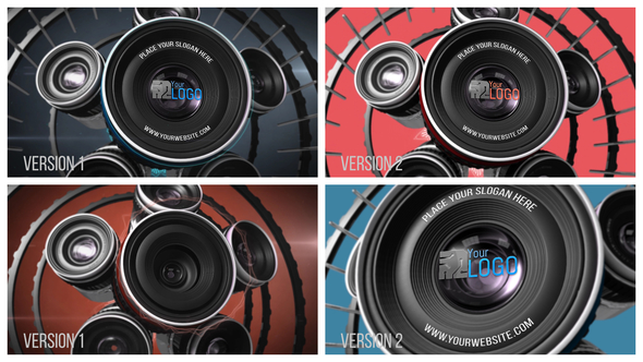 Photography Lens Logo 2 - Download Videohive 20764107