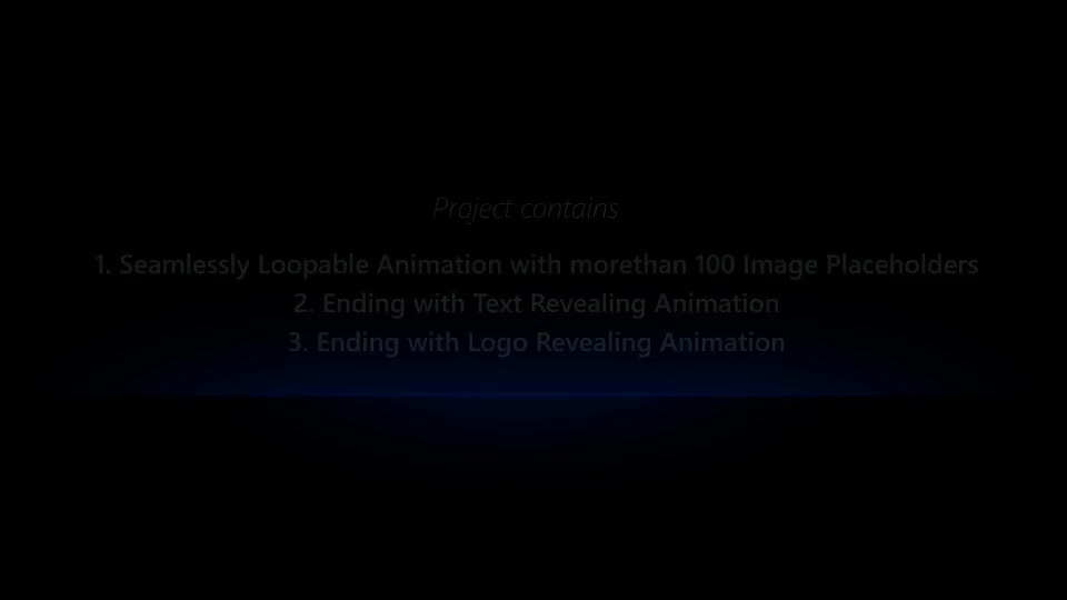 Photos Galaxy Loopable Flythrough Animation - Download Videohive 8192453