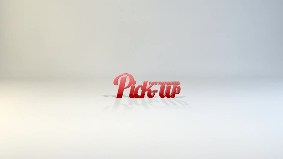 Pick Up Logo - Download Videohive 7293220
