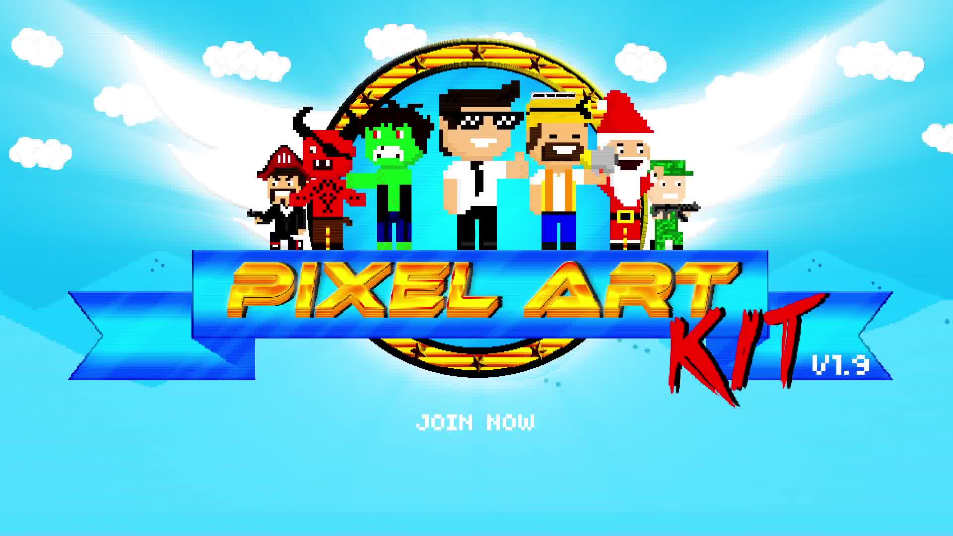 Pixel Art Kit V1.9 - Download Videohive 15325974