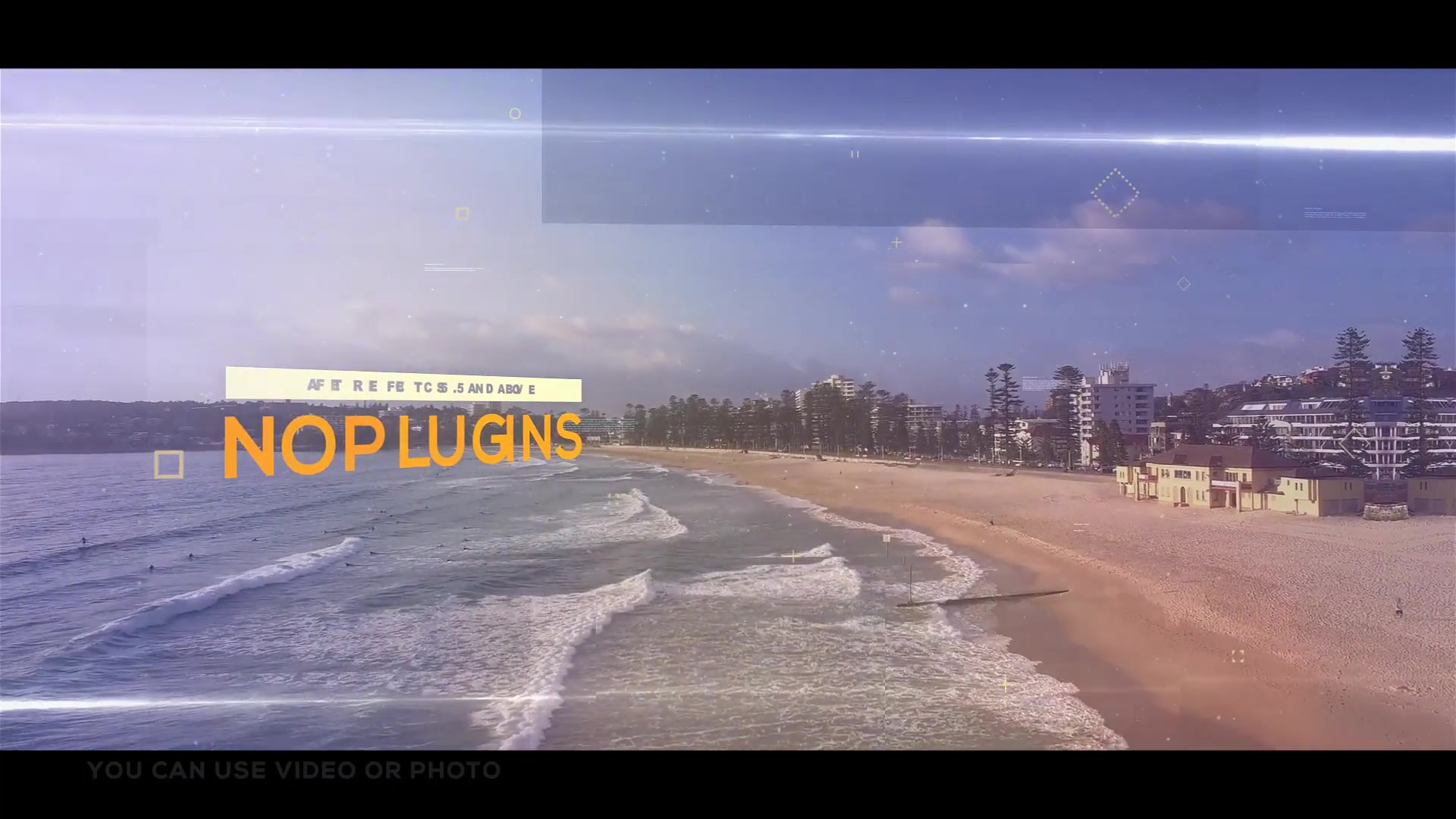 Pixel Sorting Parallax Opener | Slideshow - Download Videohive 20706416