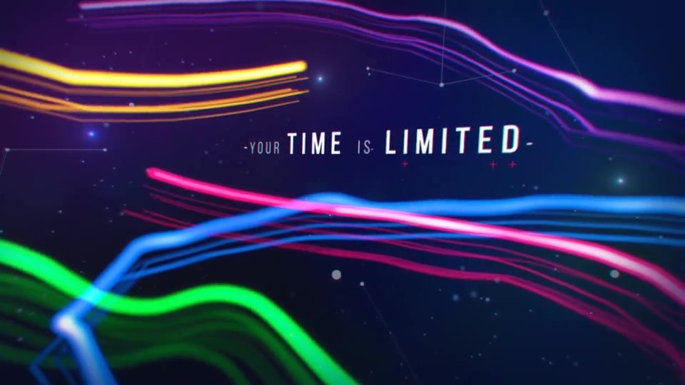 Plexus Titles 3 (Colorful Outburst) - Download Videohive 19581783