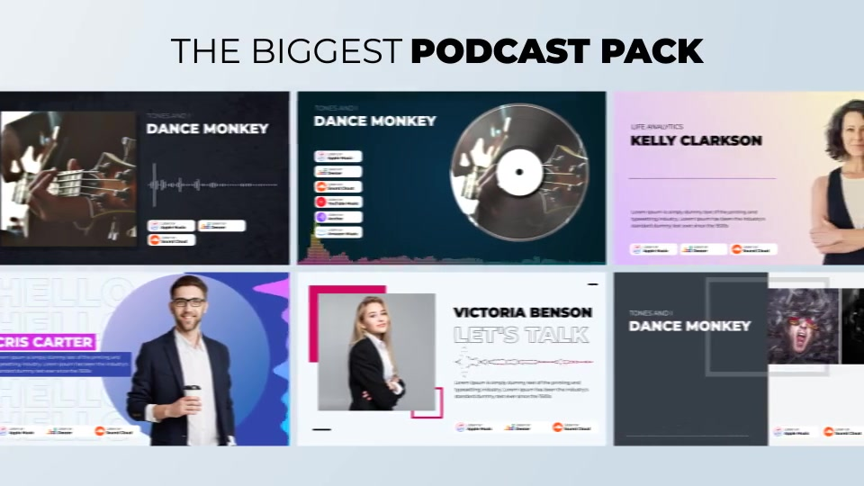 Podcast Visualizations Pack Videohive 27588818 After Effects Image 4