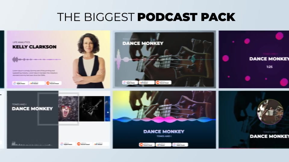 Podcast Visualizations Pack Videohive 27588818 After Effects Image 5