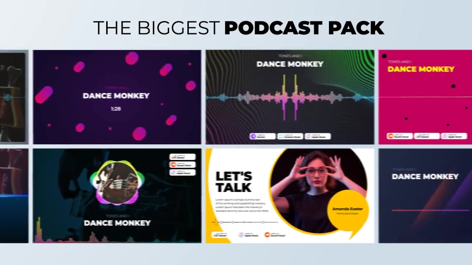 Podcast Visualizations Pack Videohive 27588818 After Effects Image 6