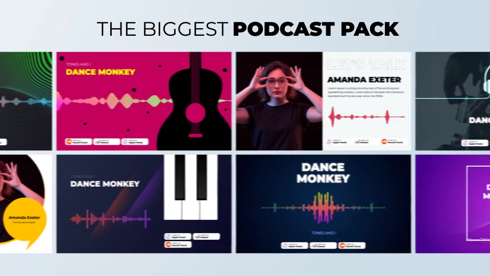 Podcast Visualizations Pack Videohive 27588818 After Effects Image 7
