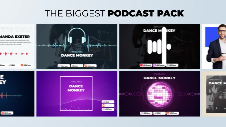 Podcast Visualizations Pack Videohive 27588818 After Effects Image 8