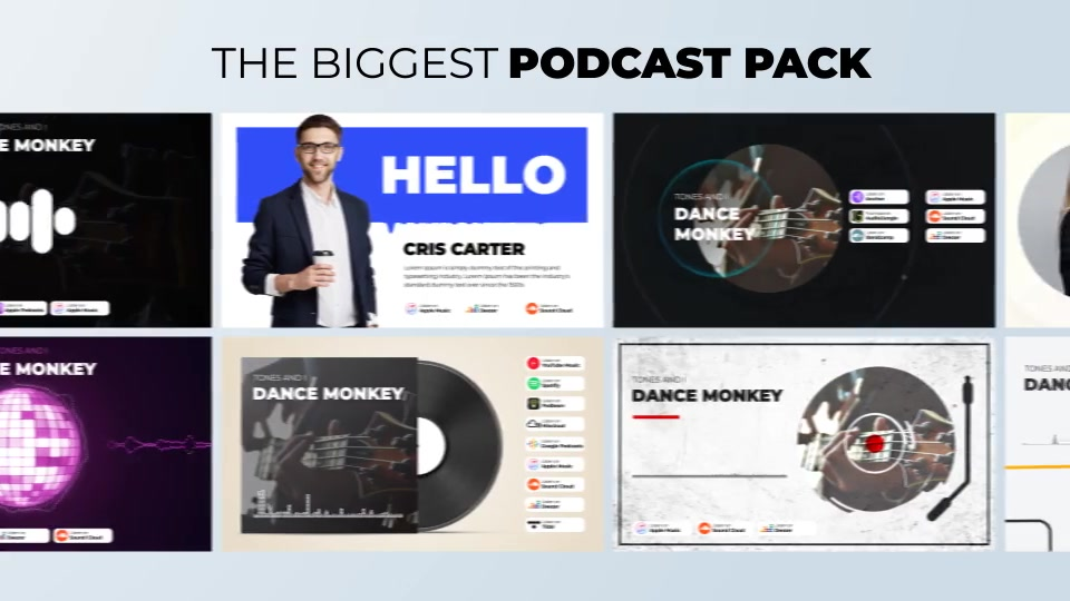 Podcast Visualizations Pack Videohive 27588818 After Effects Image 9