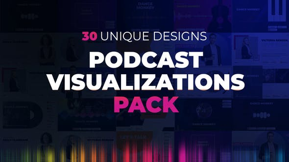 Podcast Visualizations Pack - 27588818 Download Videohive
