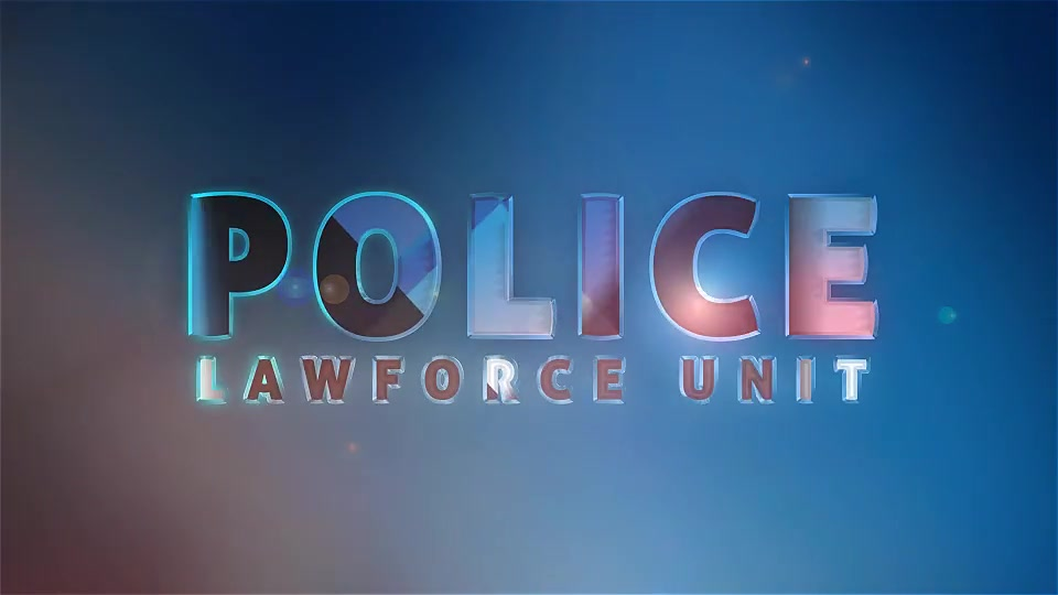 Police Logo Law Force Show Short Opener - Download Videohive 16634982