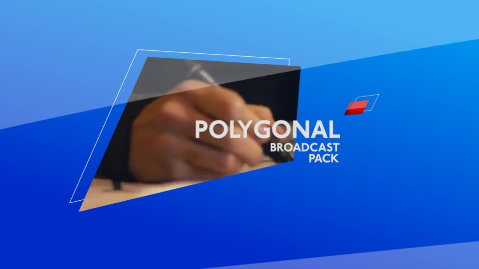 Polygonal Broadcast Package - Download Videohive 10359321