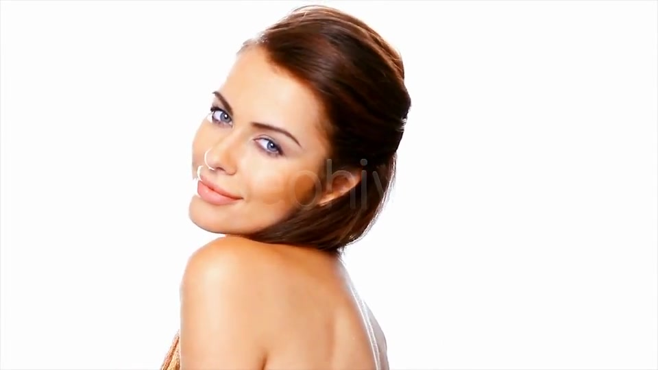Portrait Of Beautiful Smiling Woman  - Download Videohive 2422012