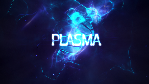 Power Light Plasma Titles 4K - Download Videohive 19439243
