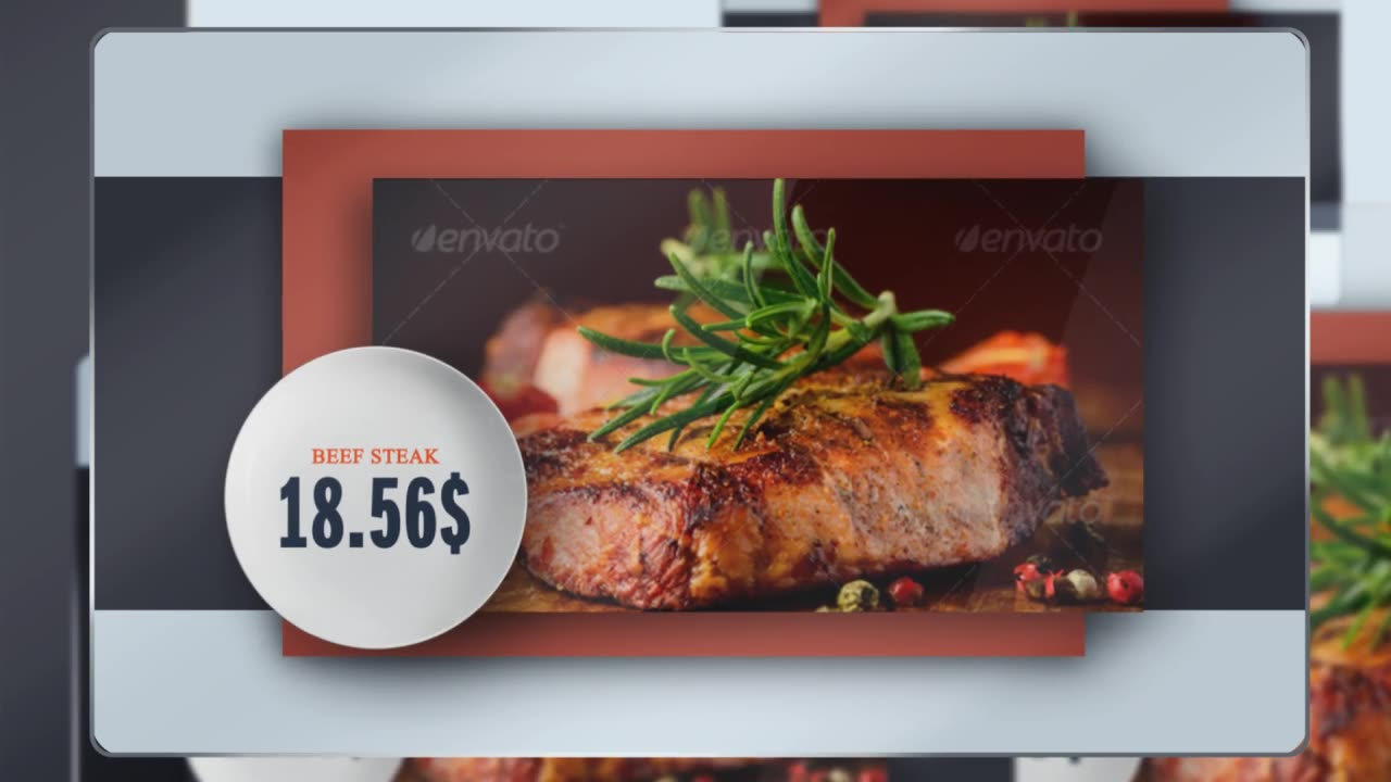Presentation of Menu (Color Control) Videohive 17357325 After Effects Image 2