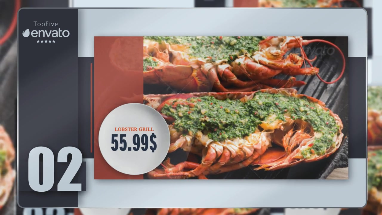 Presentation of Menu (Color Control) Videohive 17357325 After Effects Image 4