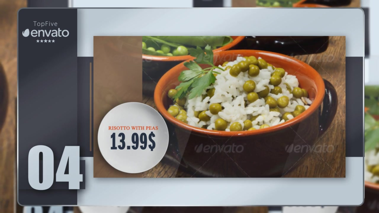 Presentation of Menu (Color Control) Videohive 17357325 After Effects Image 5