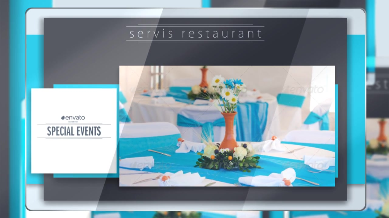 Presentation of Menu (Color Control) Videohive 17357325 After Effects Image 9