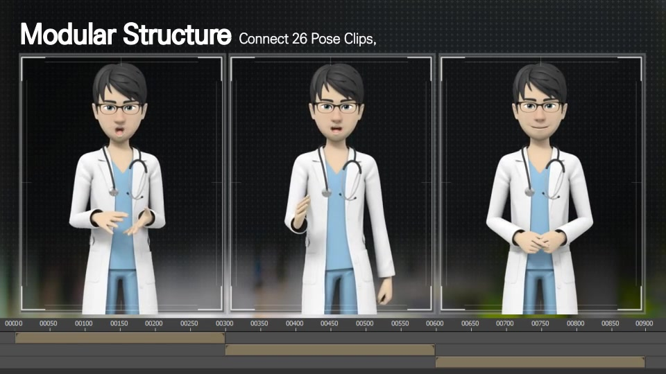 Presentation With Jason: Medical Uniform - Download Videohive 16538077