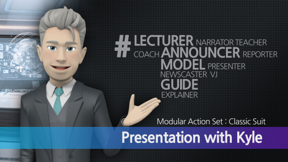 Presentation With Kyle: Classic Suit - Download Videohive 17249554