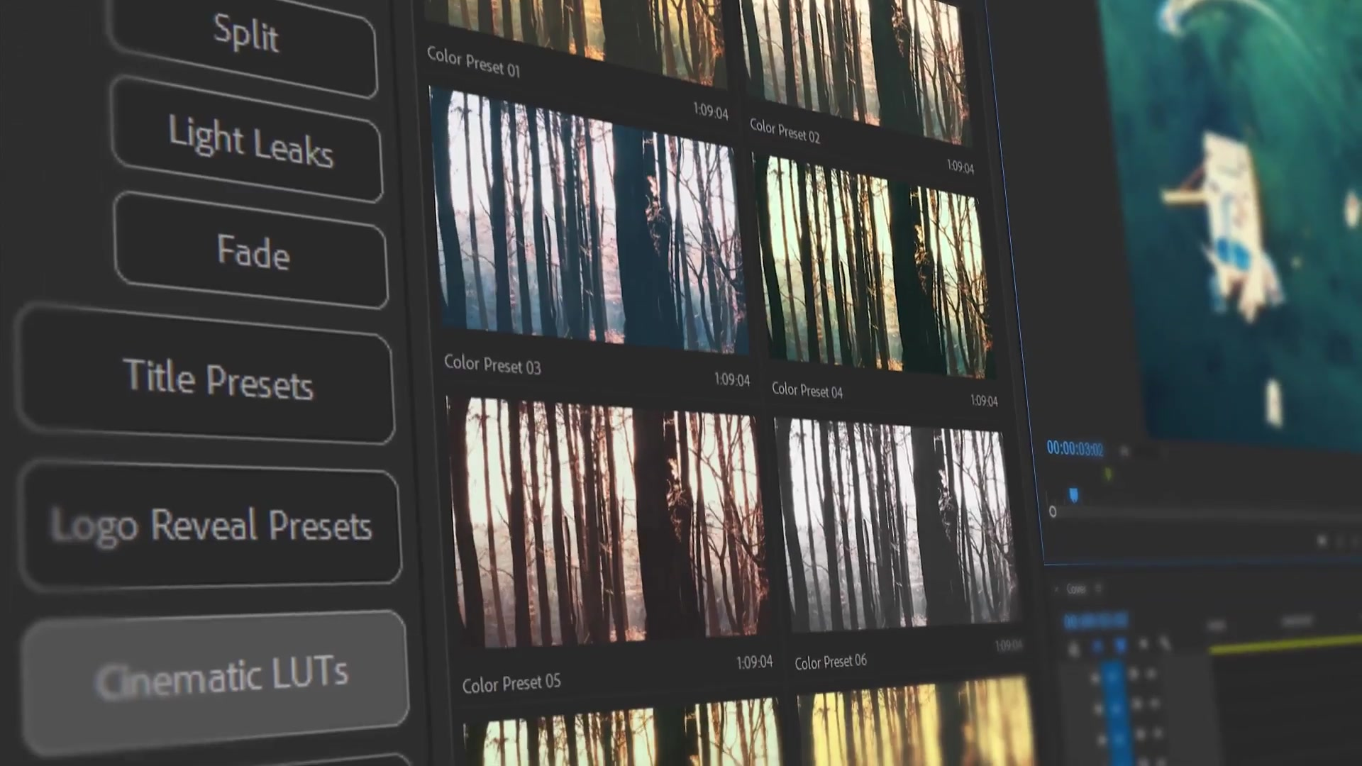 Presets Pack for Premiere Pro: Effects, Transitions, Titles, LUTS, Duotones, Sounds Videohive 24028073 Premiere Pro Image 5