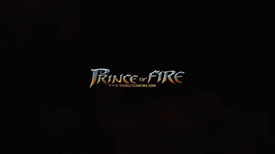 Prince of Fire Logo - Download Videohive 8295211