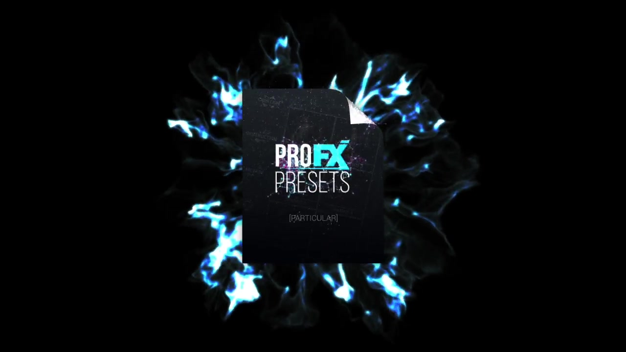 Pro FX Presets [Particular] - Project for After Effects Presets - Free download