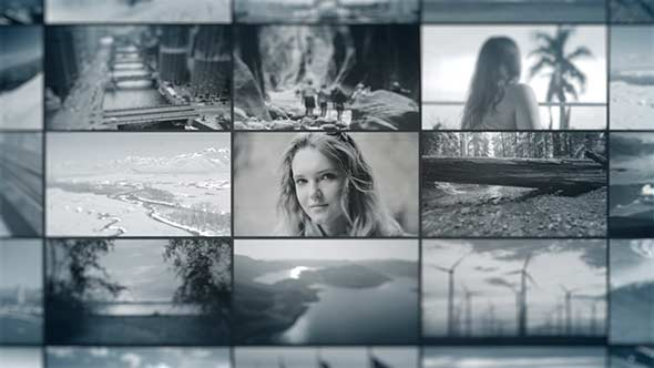 Production Reel Video Wall - Download Videohive 19580256