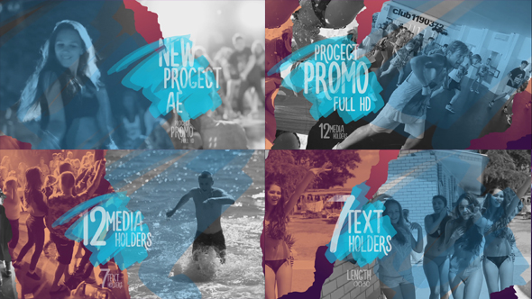 Promo Torn Sheets - Download Videohive 17733287