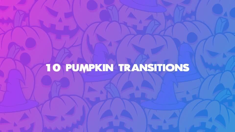 Pumpkin Transitions - Download Videohive 22662178