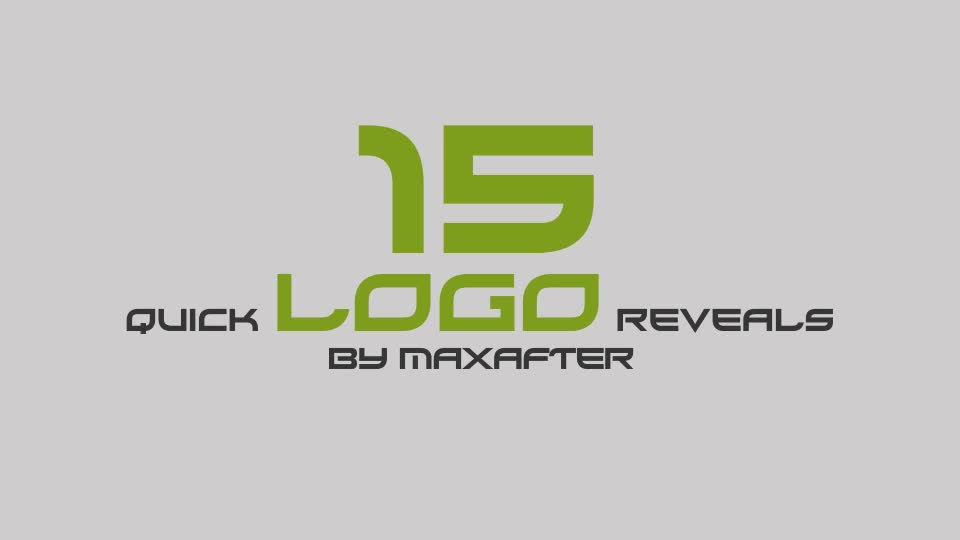 Quick Logo Reveals - Download Videohive 9191401