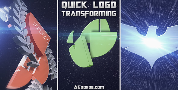 Quick Logo Transforming - Download Videohive 13642571